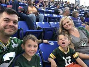 Allen attended Baltimore Ravens vs. Green Bay Packers - NFL on Aug 15th 2019 via VetTix
