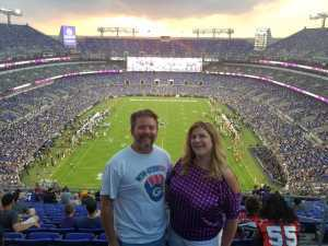 Ron Clements attended Baltimore Ravens vs. Green Bay Packers - NFL on Aug 15th 2019 via VetTix