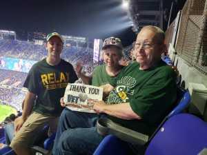 Dyers attended Baltimore Ravens vs. Green Bay Packers - NFL on Aug 15th 2019 via VetTix