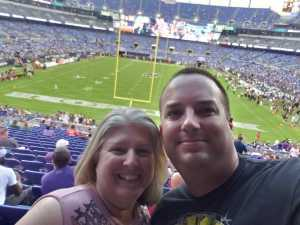 Ronnie attended Baltimore Ravens vs. Green Bay Packers - NFL on Aug 15th 2019 via VetTix