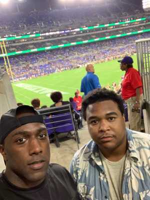 Tyler attended Baltimore Ravens vs. Green Bay Packers - NFL on Aug 15th 2019 via VetTix