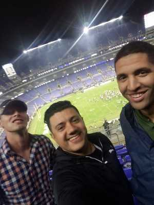 Carlos attended Baltimore Ravens vs. Green Bay Packers - NFL on Aug 15th 2019 via VetTix