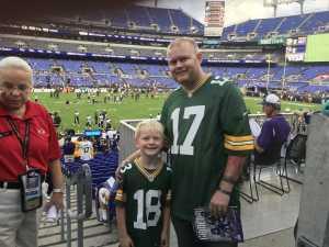 Philip attended Baltimore Ravens vs. Green Bay Packers - NFL on Aug 15th 2019 via VetTix