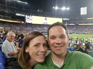 Geoffrey attended Baltimore Ravens vs. Green Bay Packers - NFL on Aug 15th 2019 via VetTix