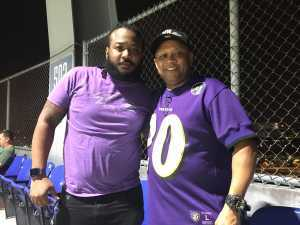 Linwood attended Baltimore Ravens vs. Green Bay Packers - NFL on Aug 15th 2019 via VetTix