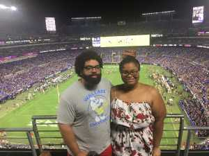 Justin attended Baltimore Ravens vs. Green Bay Packers - NFL on Aug 15th 2019 via VetTix