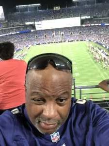 Gary attended Baltimore Ravens vs. Green Bay Packers - NFL on Aug 15th 2019 via VetTix