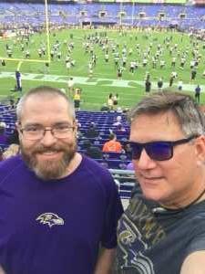 Leon attended Baltimore Ravens vs. Green Bay Packers - NFL on Aug 15th 2019 via VetTix