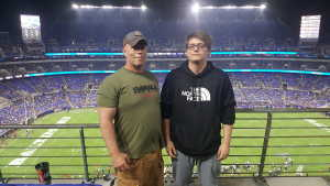 van attended Baltimore Ravens vs. Green Bay Packers - NFL on Aug 15th 2019 via VetTix