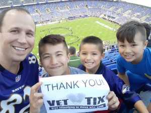 Josh attended Baltimore Ravens vs. Green Bay Packers - NFL on Aug 15th 2019 via VetTix