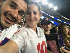 Pamela attended Baltimore Ravens vs. Green Bay Packers - NFL on Aug 15th 2019 via VetTix