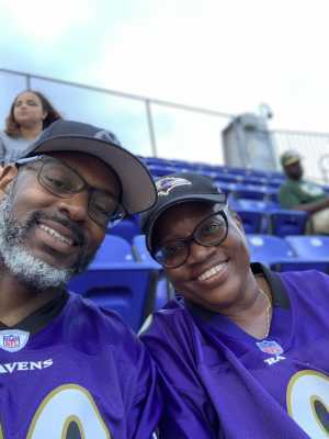 Michael attended Baltimore Ravens vs. Green Bay Packers - NFL on Aug 15th 2019 via VetTix