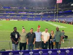 Kyle attended Baltimore Ravens vs. Green Bay Packers - NFL on Aug 15th 2019 via VetTix