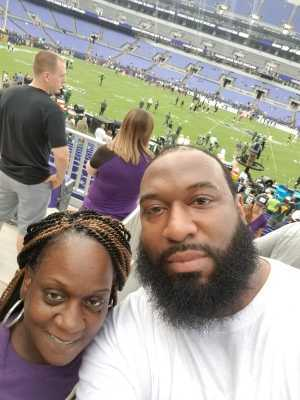 Joseph attended Baltimore Ravens vs. Green Bay Packers - NFL on Aug 15th 2019 via VetTix