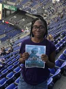 Garland attended Baltimore Ravens vs. Green Bay Packers - NFL on Aug 15th 2019 via VetTix