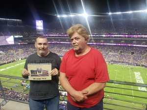 Dennis Cash attended Baltimore Ravens vs. Green Bay Packers - NFL on Aug 15th 2019 via VetTix