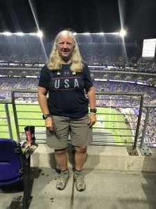 Anne attended Baltimore Ravens vs. Green Bay Packers - NFL on Aug 15th 2019 via VetTix