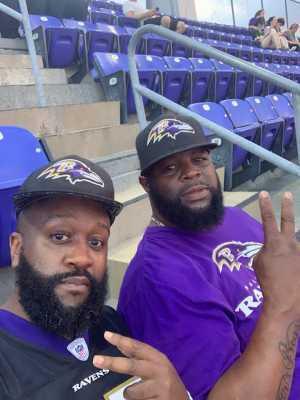Robby attended Baltimore Ravens vs. Green Bay Packers - NFL on Aug 15th 2019 via VetTix