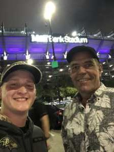 Travis attended Baltimore Ravens vs. Green Bay Packers - NFL on Aug 15th 2019 via VetTix
