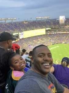Jason attended Baltimore Ravens vs. Green Bay Packers - NFL on Aug 15th 2019 via VetTix