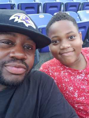 Tariq-Von attended Baltimore Ravens vs. Green Bay Packers - NFL on Aug 15th 2019 via VetTix