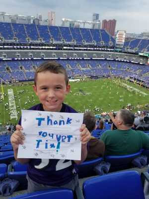 Daniel attended Baltimore Ravens vs. Green Bay Packers - NFL on Aug 15th 2019 via VetTix