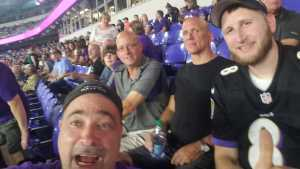 Marcus attended Baltimore Ravens vs. Green Bay Packers - NFL on Aug 15th 2019 via VetTix