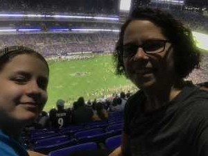 Jodi attended Baltimore Ravens vs. Green Bay Packers - NFL on Aug 15th 2019 via VetTix