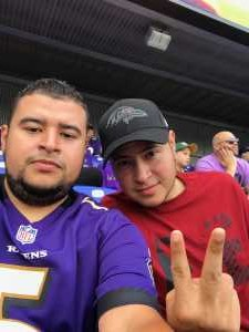 Edwin attended Baltimore Ravens vs. Green Bay Packers - NFL on Aug 15th 2019 via VetTix