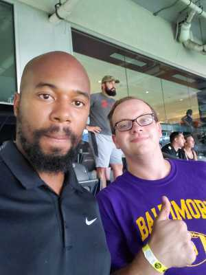 James attended Baltimore Ravens vs. Green Bay Packers - NFL on Aug 15th 2019 via VetTix