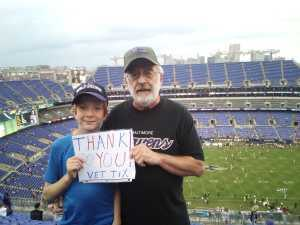 Ray attended Baltimore Ravens vs. Green Bay Packers - NFL on Aug 15th 2019 via VetTix