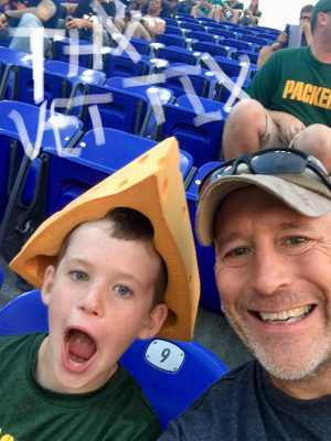 Keith attended Baltimore Ravens vs. Green Bay Packers - NFL on Aug 15th 2019 via VetTix
