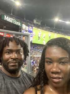 MARCELOS attended Baltimore Ravens vs. Green Bay Packers - NFL on Aug 15th 2019 via VetTix