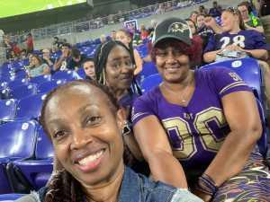 Jennifer attended Baltimore Ravens vs. Green Bay Packers - NFL on Aug 15th 2019 via VetTix