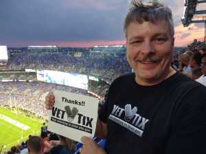 Lyle attended Baltimore Ravens vs. Green Bay Packers - NFL on Aug 15th 2019 via VetTix