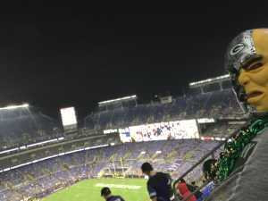 Charles attended Baltimore Ravens vs. Green Bay Packers - NFL on Aug 15th 2019 via VetTix