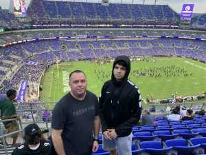 Nicholas attended Baltimore Ravens vs. Green Bay Packers - NFL on Aug 15th 2019 via VetTix