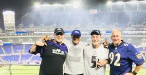 Thomas attended Baltimore Ravens vs. Green Bay Packers - NFL on Aug 15th 2019 via VetTix