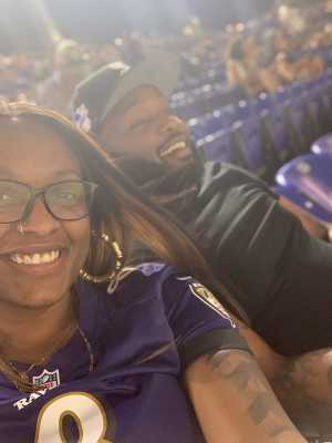 Shaneika attended Baltimore Ravens vs. Green Bay Packers - NFL on Aug 15th 2019 via VetTix