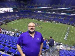 Mark attended Baltimore Ravens vs. Green Bay Packers - NFL on Aug 15th 2019 via VetTix