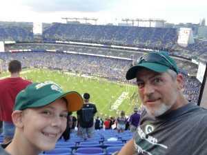 Dennis attended Baltimore Ravens vs. Green Bay Packers - NFL on Aug 15th 2019 via VetTix