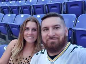Brandon attended Baltimore Ravens vs. Green Bay Packers - NFL on Aug 15th 2019 via VetTix