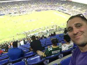 coy attended Baltimore Ravens vs. Green Bay Packers - NFL on Aug 15th 2019 via VetTix