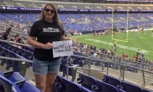 stacey attended Baltimore Ravens vs. Green Bay Packers - NFL on Aug 15th 2019 via VetTix