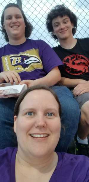 Destinee attended Baltimore Ravens vs. Green Bay Packers - NFL on Aug 15th 2019 via VetTix