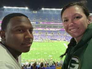 James attended Baltimore Ravens vs. Green Bay Packers - NFL on Aug 15th 2019 via VetTix