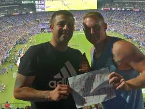 Antonio attended Baltimore Ravens vs. Green Bay Packers - NFL on Aug 15th 2019 via VetTix