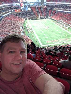 James attended Atlanta Falcons vs. Washington Redskins - NFL Preseason on Aug 22nd 2019 via VetTix