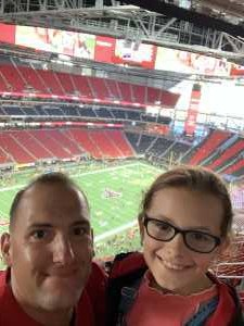 GREGORY attended Atlanta Falcons vs. Washington Redskins - NFL Preseason on Aug 22nd 2019 via VetTix