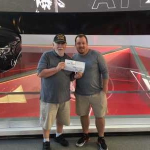Gene Redahan attended Atlanta Falcons vs. Washington Redskins - NFL Preseason on Aug 22nd 2019 via VetTix